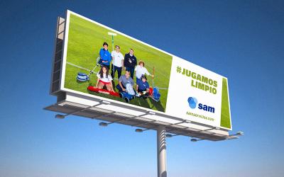 SAM pone en marcha la campaña #JUGAMOSLIMPIO