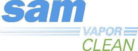 logo SAM VAPORCLEAN